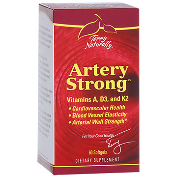 Terry Naturally Artery Strong, For Vascular Health, 60 Softgels, EuroPharma