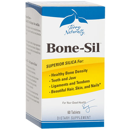 Terry Naturally Bone-Sil, Silica for Healthy Bone Density, 60 Tablets, EuroPharma