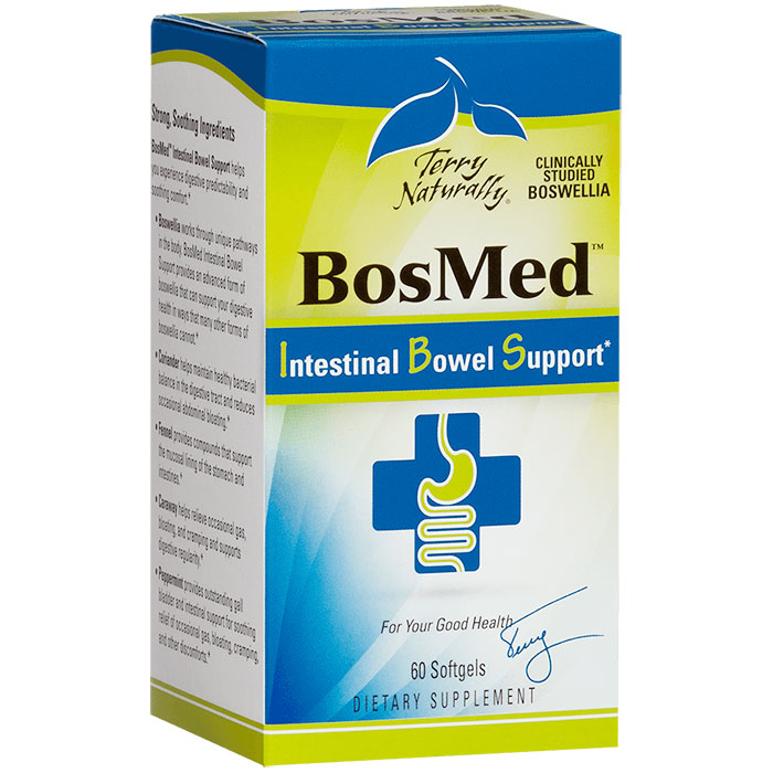 Terry Naturally BosMed Intestinal Bowel Support, 60 Softgels, EuroPharma