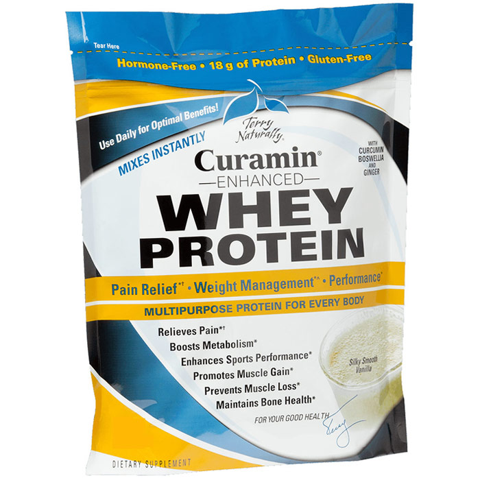 Terry Naturally Curamin Enhanced Whey Protein, 1 oz (30 g), EuroPharma