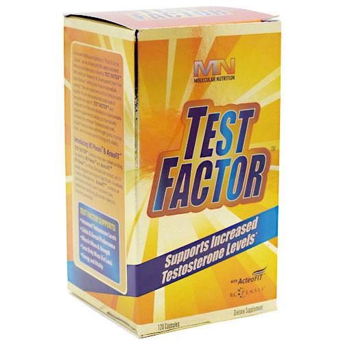 Test Factor, 120 Capsules, Molecular Nutrition