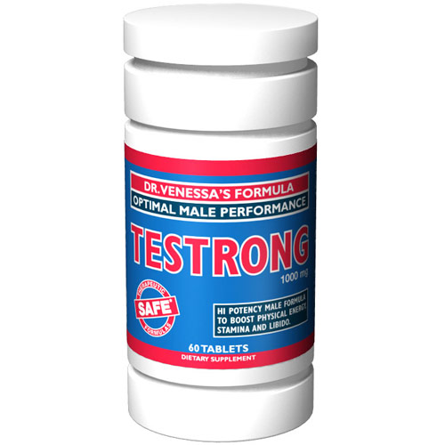 Testrong, 60 Tablets, Dr. Venessa's Formulas - CLICK HERE TO LEARN MORE