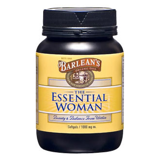 The Essential Woman, 60 Softgels, Barleans Organic Oils (Beauty & Balance)