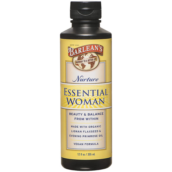 Essential Woman Liquid, Nurture, 12 oz, Barleans Organic Oils