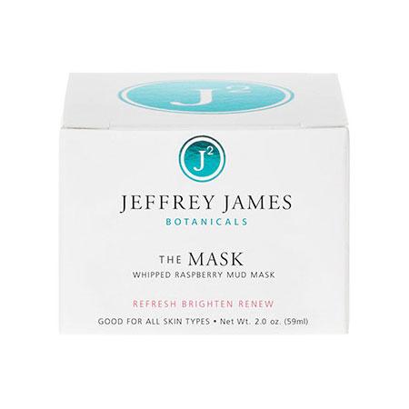The Mask, Whipped Raspberry Mud Mask, 2 oz, Jeffrey James Botanicals