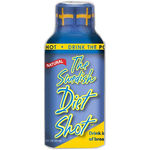 The Swedish Diet Shot, Natural Weight Loss Drink, 2 oz x 6 Bottles