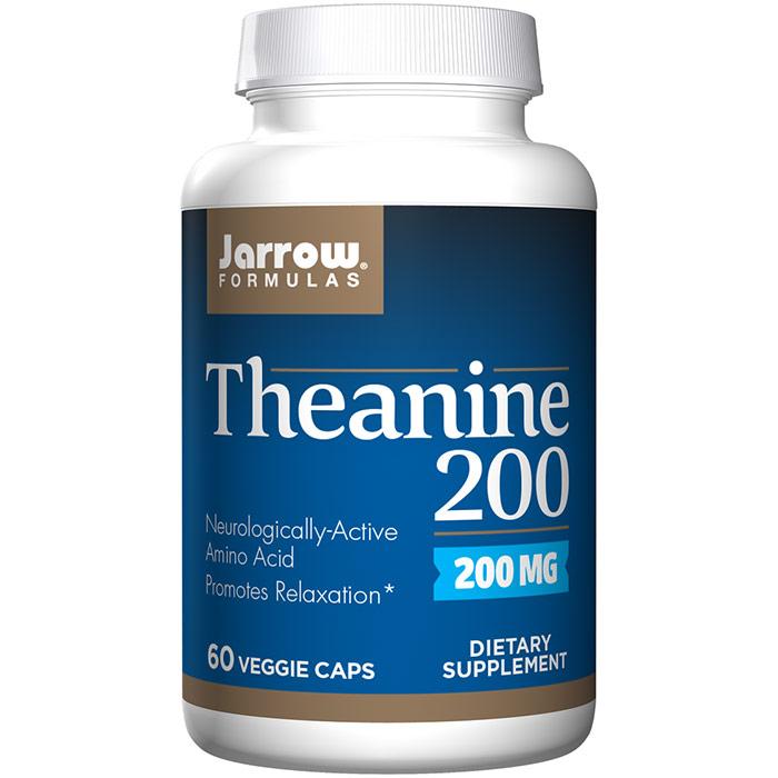 Theanine 200 (L-Theanine 200 mg), 60 Capsules, Jarrow Formulas