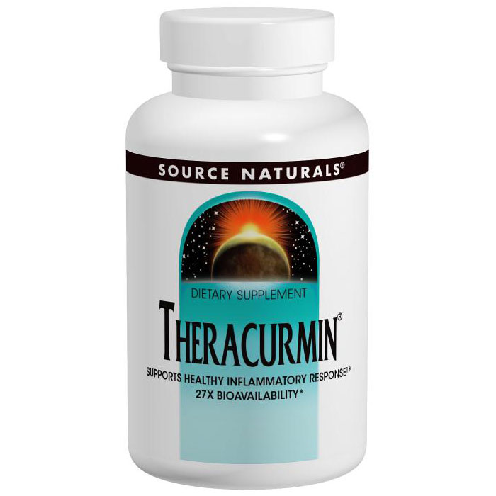 Theracurmin 300 mg, Turmeric Curcumin, 30 Vegetarian Capsules, Source Naturals