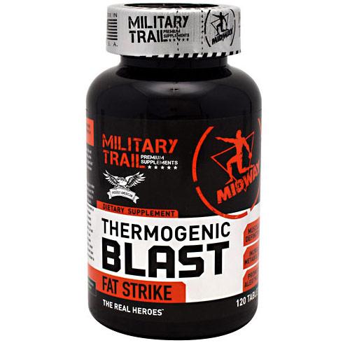 Thermogenic Blast, Fat Burner, 120 Tablets, Midway Labs