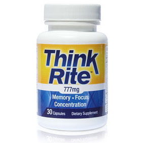 Think Rite, Brain Formula, 30 Capsules, Newton-Everett