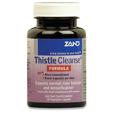 Thistle Cleanse Formula, Milk Thistle Complex, 30 Capsules, Zand