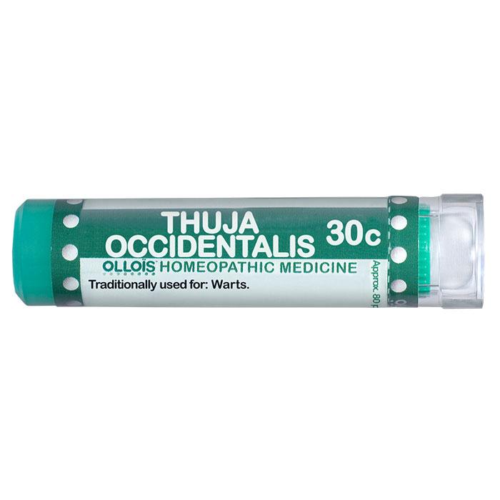Thuja Occidentalis 30c, 80 Pellets, Ollois Homeopathic
