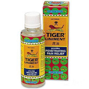 Image of Tiger Liniment, Penetrating Pain Relief 2 oz liquid from Tiger Balm