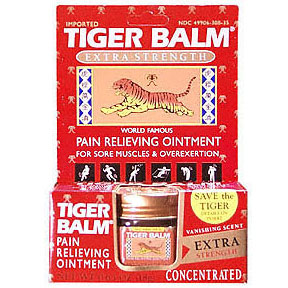 Tiger Balm Red, Extra Strength Pain Relieving Ointment 0.63 oz from Tiger Balm