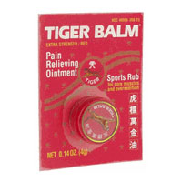 Tiger Balm Red, Pain Relieving Ointment 0.14 oz from Tiger Balm