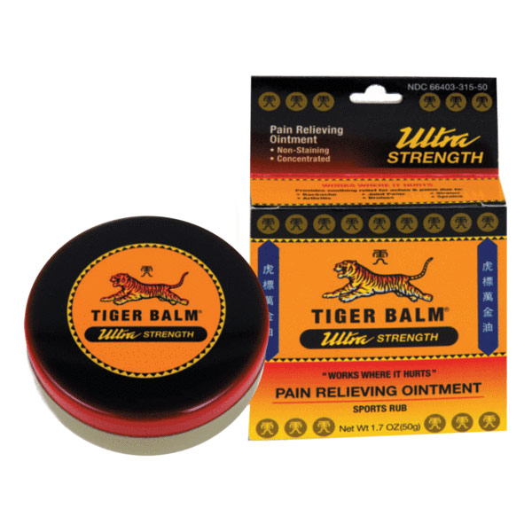 Tiger Balm Ultra Strength, 1.7 oz (50 g), Prince of Peace