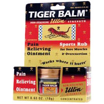 Tiger Balm White, Ultra Strength Non-Staining Pain Relief Ointment 0.63 oz from Tiger Balm