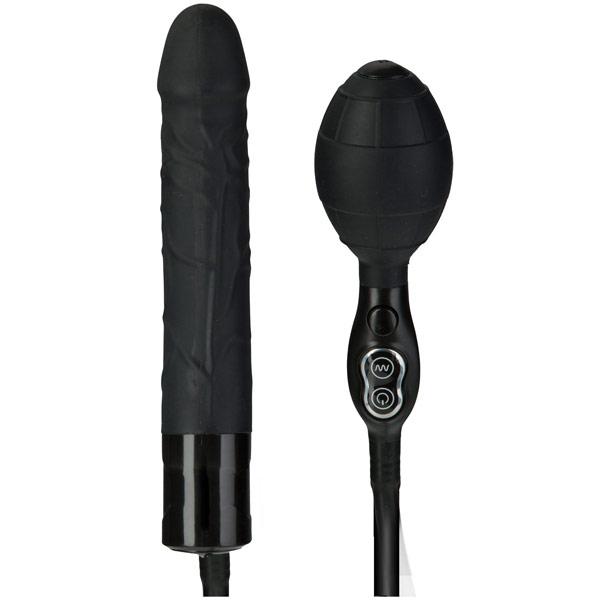 TitanMen Vibrating Inflatable Wonder - Black, Doc Johnson