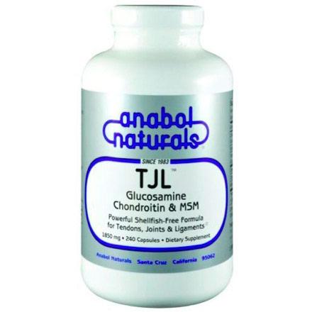 TJL Glucosamin Chondroitin & MSM, 30 Capsules, Anabol Naturals
