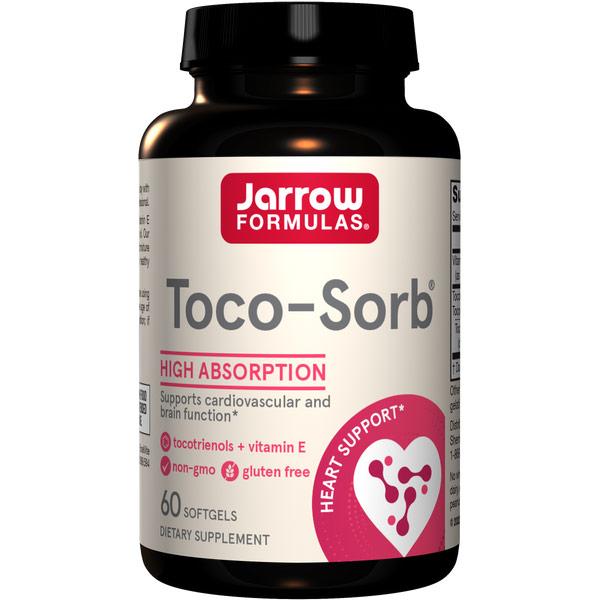 Toco-Sorb ( Toco-Life ) Tocotrienol Complex, 60 softgels, Jarrow Formulas