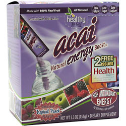 ToGo Brands Acai Energy Boost Drink, 24 Packets