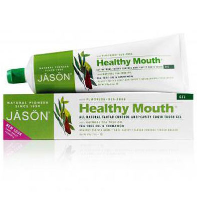 Buy Toothpaste Healthy Mouth Plus CoQ10 Gel 6 oz, Jason Natural