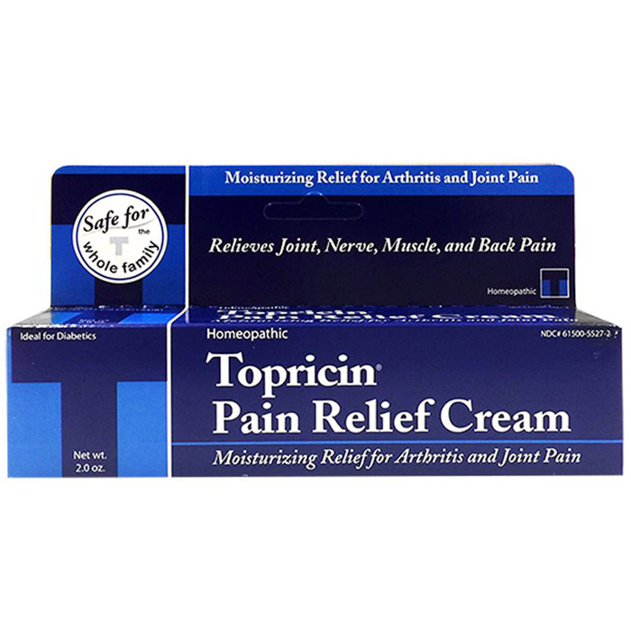 Topricin Pain Relief & Healing Cream, 2 oz Tube