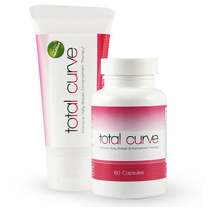 Total Curve Breast Enhancement Kit (Daily Supplement and Lifting/Firming Gel) from Albion Medical