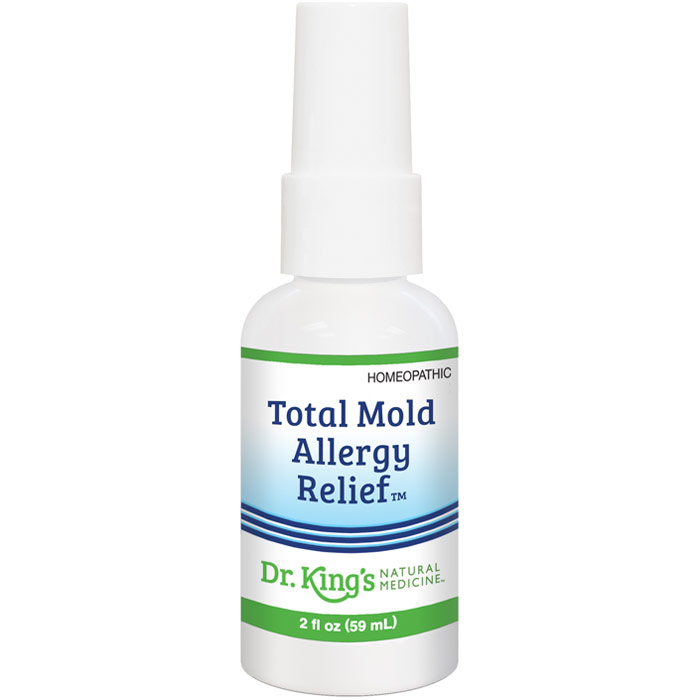Total Mold Allergy Relief, 2 oz, Dr. Kings by King Bio