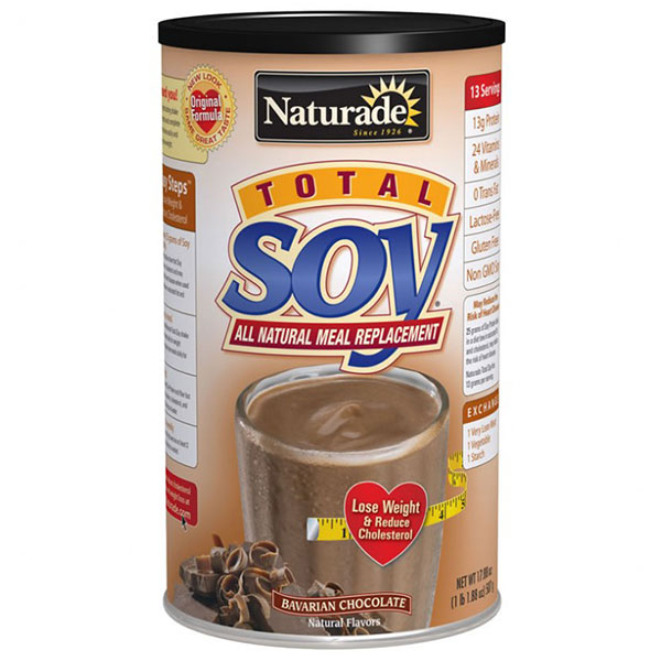 Total Soy Meal Replacement Bavarian Chocolate 1.1 lb from Naturade