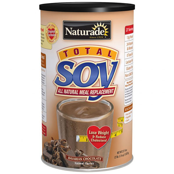 Total Soy Meal Replacement Bavarian Chocolate 2.4 lb from Naturade