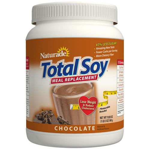 Total Soy Meal Replacement - Chocolate, 19.05 oz, Naturade