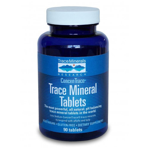 Trace Mineral Tabs, 300 Tablets, Trace Minerals Research