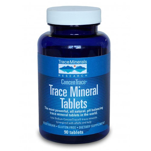 Trace Mineral Tabs, 90 Tablets, Trace Minerals Research