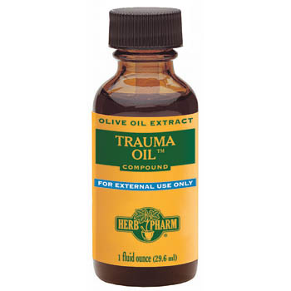 Trauma Oil Compound Liquid, 4 oz, Herb Pharm