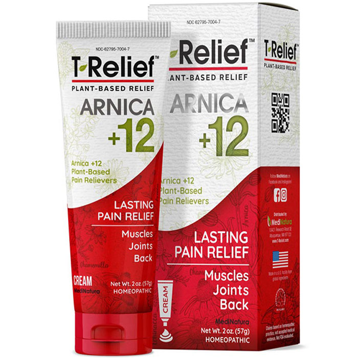T-Relief Pain Relief Ointment, 50 g, MediNatura
