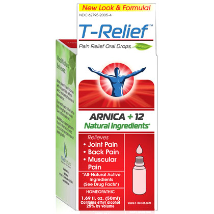 T-Relief Pain Relief Oral Drops, 50 ml, MediNatura