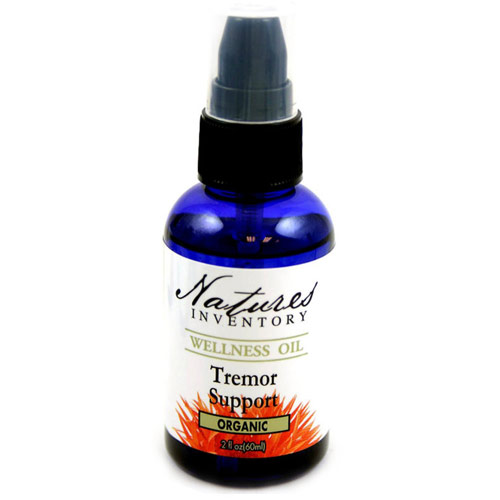 Tremor Support Wellness Oil, 2 oz, Natures Inventory