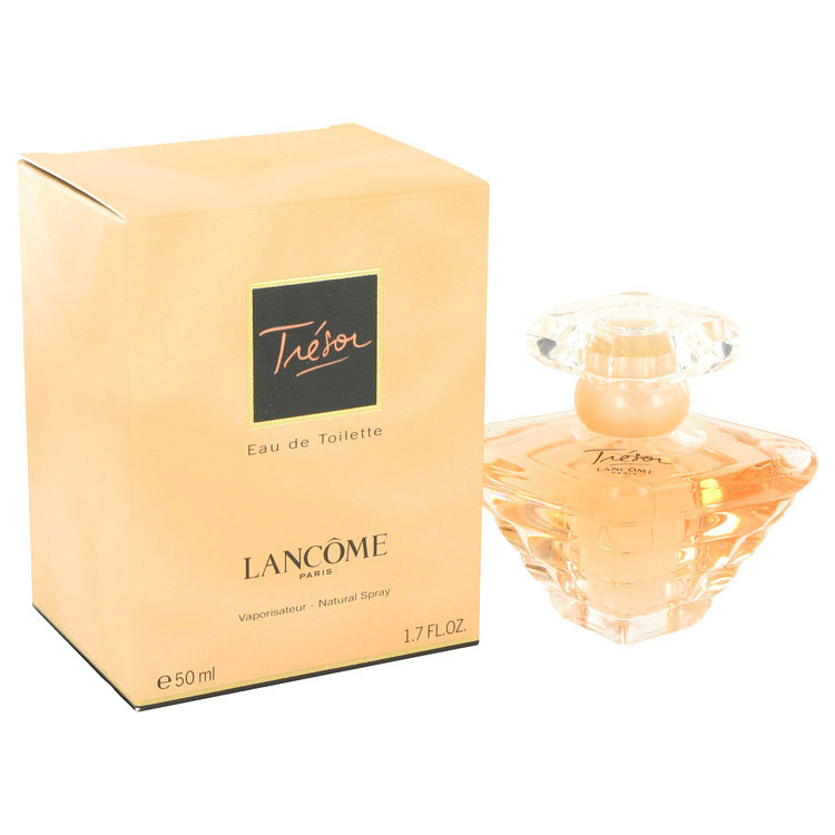 Image of Tresor Eau De Toilette Spray for Women, 1.7 oz (50 ml), Lancome
