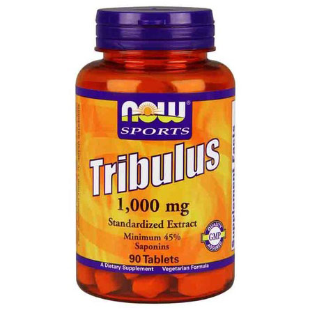 Tribulus 1000 mg, Standardized Extract, 90 Tablets, NOW Foods