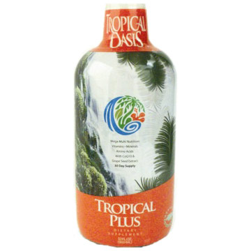 Tropical Plus Mega Multiple Nutrition Liquid 32 Oz