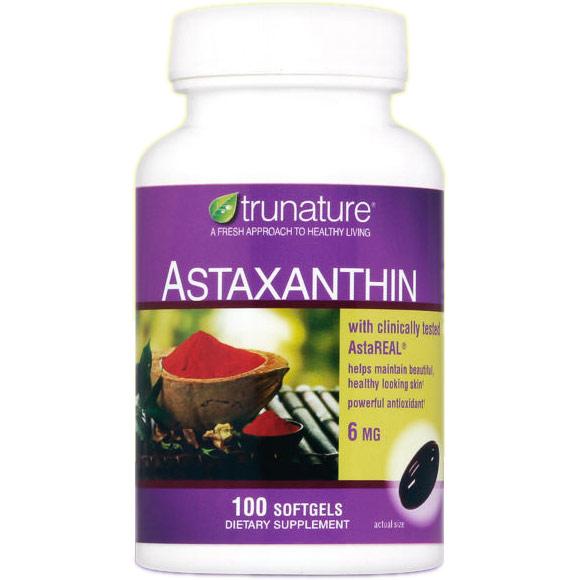 TruNature Astaxanthin 6 mg, 100 Softgels