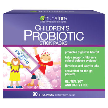 Trunature Childrens Probiotic Powder, 90 Stick Packs