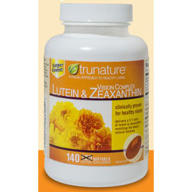 TruNature Lutein 20mg + Zeaxanthin 5mg, 90 Softgels - CLICK HERE TO LEARN MORE