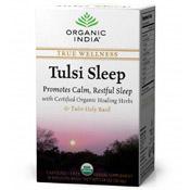 Tulsi Sleep, True Wellness Tea, 18 Tea Bags, Organic India