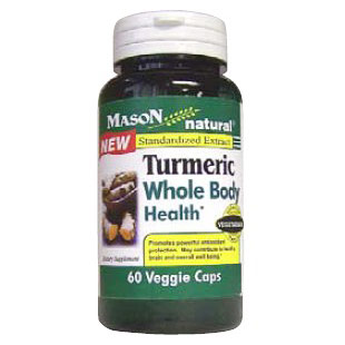Turmeric, Standardized to 95% Curcumin, 60 Capsules, Mason Natural