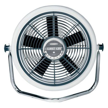 Seabreeze Turbo-Aire High Velocity Cooling Fan with Wall Mount