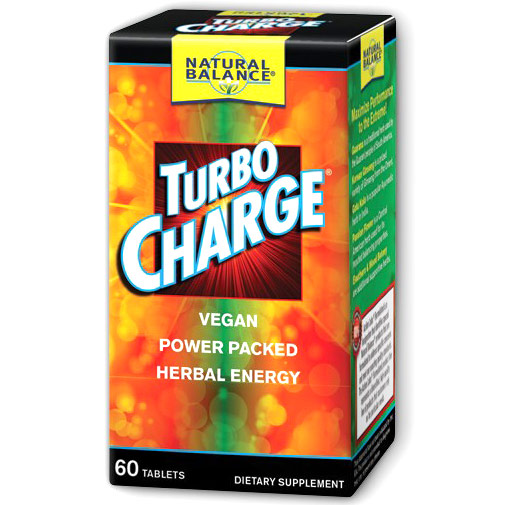 Turbo Charge, 60 Tablets, Natural Balance