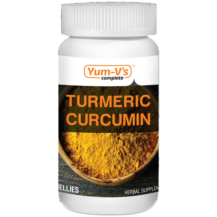 Chewable Turmeric Curcumin, 60 Jellies, Yum-Vs Complete