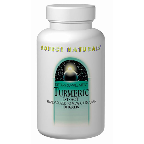 Turmeric Extract 95% Curcumin 100 tabs from Source Naturals